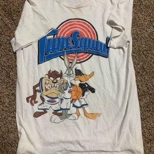 Vintage warner bros time squad t shirt